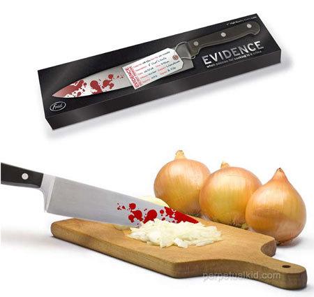 Evidence Chef's Knife, un cuchillo sangriento