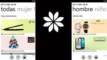 Privalia: las mejores ofertas del outlet de moda y lifestyle en Windows Phone