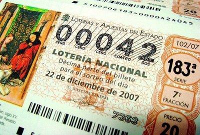 Si juegas a la lotería, no gastes ni un segundo en escoger el número