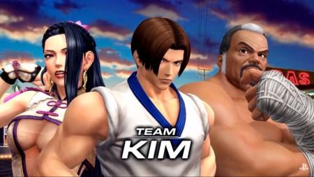 Veamos al equipo de Kim en The King of Fighters XIV