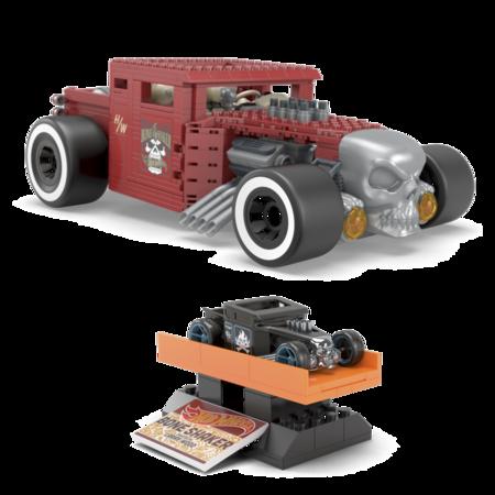 Hot Wheels le quiere dar batalla a LEGO y lanza un Bone Shaker para armar