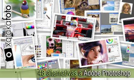 48 alternativas a Adobe Photoshop, 22 programas de escritorio y 26 servicios online