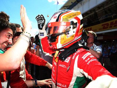 Charles Leclerc pide a gritos un asiento en Ferrari