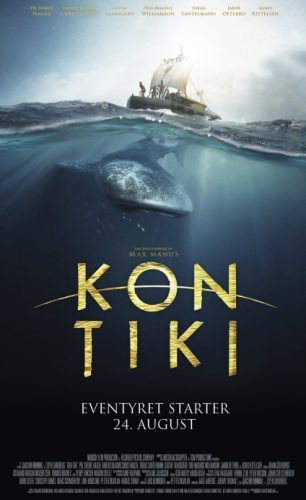 El primer cartel de Kon Tiki
