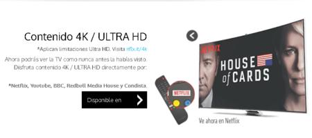 Totalplay Canales 4k Mexico Netflix