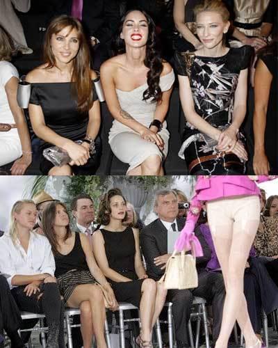 El front-row de Alta Costura Otoño 2009: Armani Privé y Dior