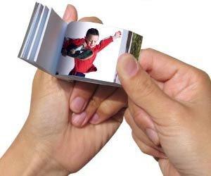 Flip books con la foto de tu bebé