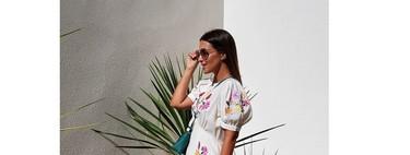 Paula Echevarría luce el vestido blanco más bonito del verano
