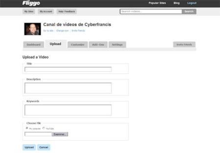 Fliggo, crea tu propio sitio de vídeos en Internet