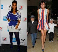 Estas navidades lleva un vestido de colores, por Alicia Keys y Victoria Beckham