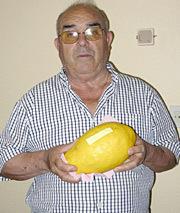 Un limón de 1.400 gramos
