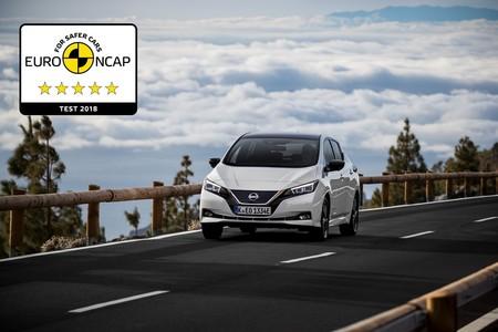 Nissan LEAF obtiene la máxima puntuación en las pruebas de Euro NCAP