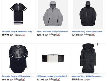 Ya puedes comprar la colección de Alexander Wang para H&M...en Ebay claro