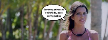 A Andrea Gasca le encanta la leche, o eso ha dicho la princesita sin corona (virus) a Cristian durante su primera cita con él en 'La Isla de las Tentaciones'