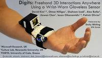 Microsoft presenta Digits, un dispositivo de detección de movimiento basado en infrarrojos