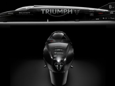 Guy Martin y Triumph a por el récord de velocidad, ¿a la segunda irá la vencida?
