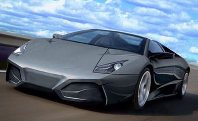 Veno Automotive y su copia del Lamborghini Reventón