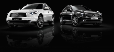 "Infiniti FX Edición ""Black and White"""