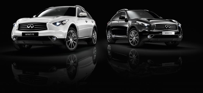 Infiniti FX Edición Black and White
