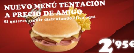 En Pans podemos disfrutar de un menú completo por menos de 3 euros
