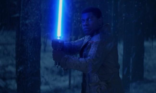 John Boyega en Star Wars VII