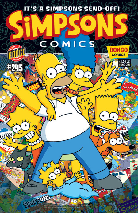 El final de los comics de los Simpson