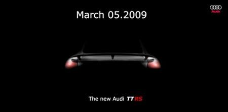 Audi TT-RS confirmado para el Salón de Ginebra