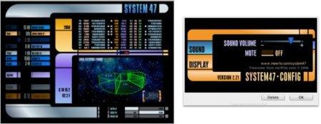 System 47, un salvapantallas para trekkies