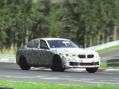 El futuro BMW M5 pasea su V8 y su tracción integral por el Nürburgring en este vídeo