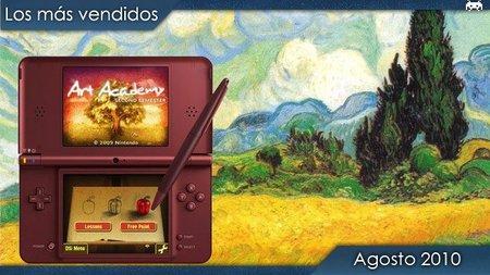 Los juegos más vendidos en España. Agosto 2010.