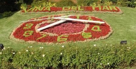 Viña del Mar (Chile): donde la hora la dan las flores