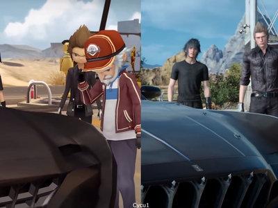Final Fantasy XV: la versión de móviles frente a la de PS4 Pro en tres comparativas