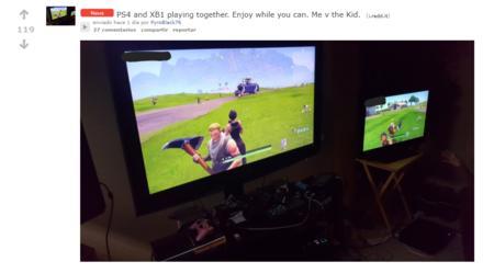 El Cross Play Entre Ps4 Y Xbox Ya Es Posible Usuarios De Fortnite