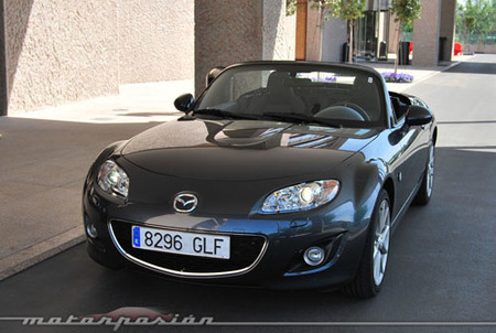 Mazda MX-5 Roadster Coupé, miniprueba