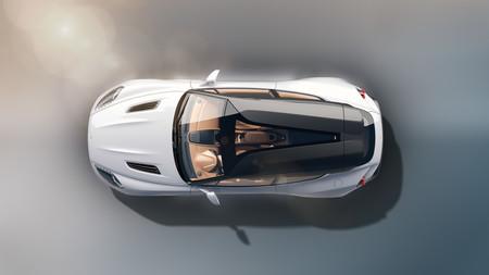 Aston Martin Vanquish Zagato Shooting Brake techo