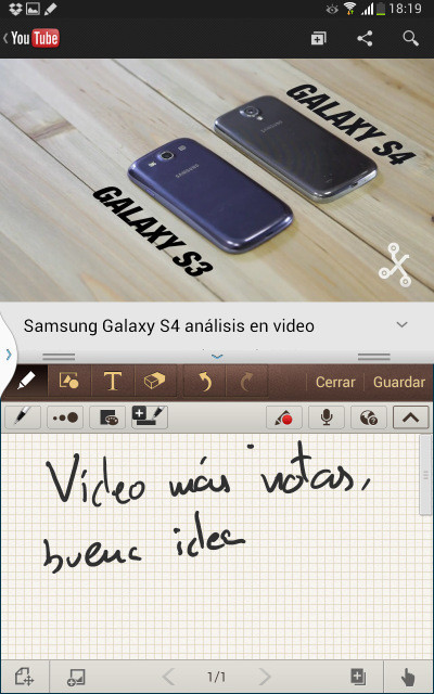 Multiventana en el Note 8