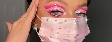 La mascarilla se convierte en el perfecto complemento de Halloween con estos nueve maquillajes de fantasía
