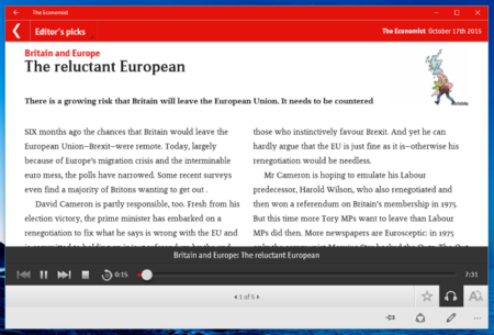 The Economist Audio