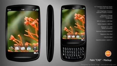 Palm C40, posible Palm con tecnología 4G para el próximo otoño
