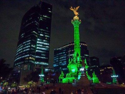 Desde México a Madrid pasando por Sydney: las ciudades se iluminaron de verde para apoyar el Acuerdo de París