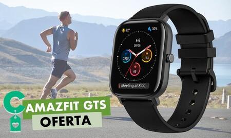 Increíble autonomía y GPS integrado por sólo 89,99 euros: Amazon tiene el Amazfit GTS rebajadísimo