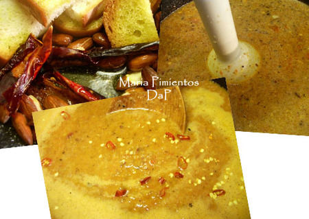 Caracolillos en salsa de almendras