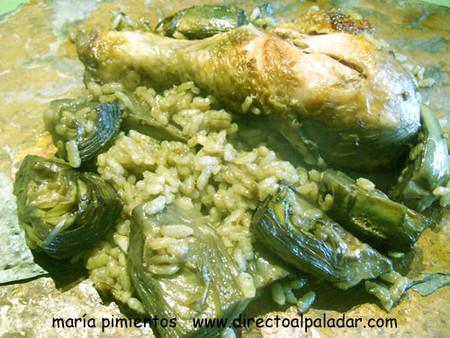 Receta de arroz marciano