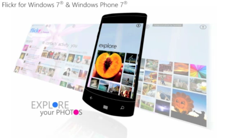 Flickr para Windows Phone 7 a finales de Enero