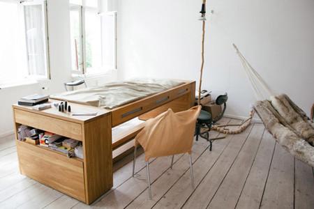 Mesa convertible en cama