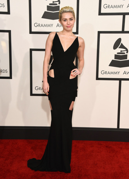 Miley Cyrus Alexandre Vauthier Grammy 2015
