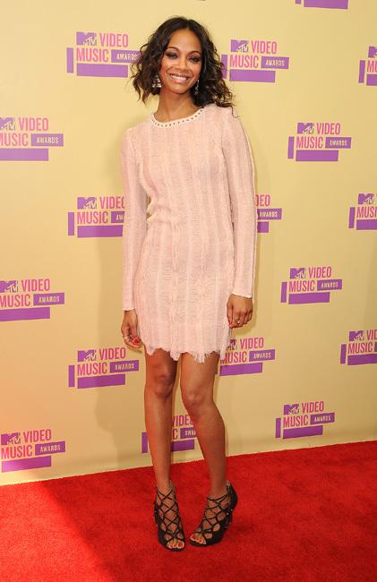 Zoe Saldaña VMA 2012