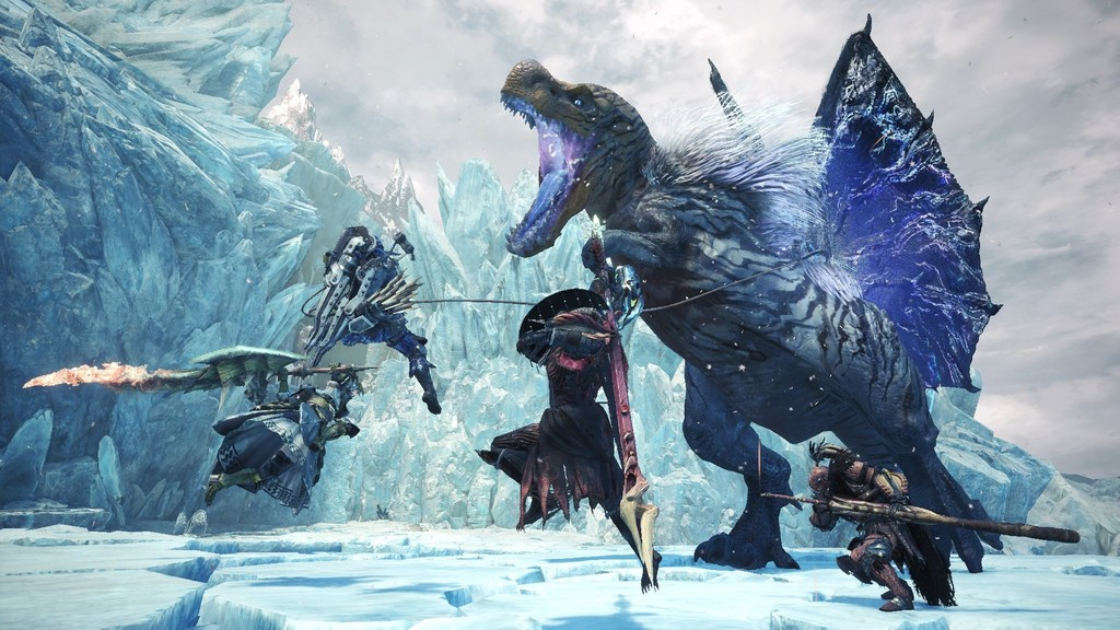 Los descomunales monstruos de la expansión Monster Hunter World: Iceborne desfilan en un nuevo tráiler [GC 2019]