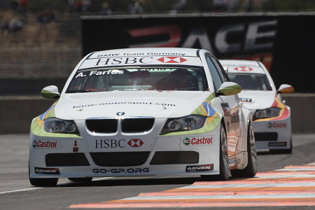 BMW en primera línea con pole de Augusto Farfus en Puebla