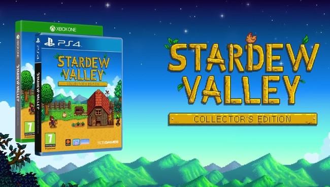 Stardew Valley da el salto al formato físico en consolas y PC con su Collector's Edition